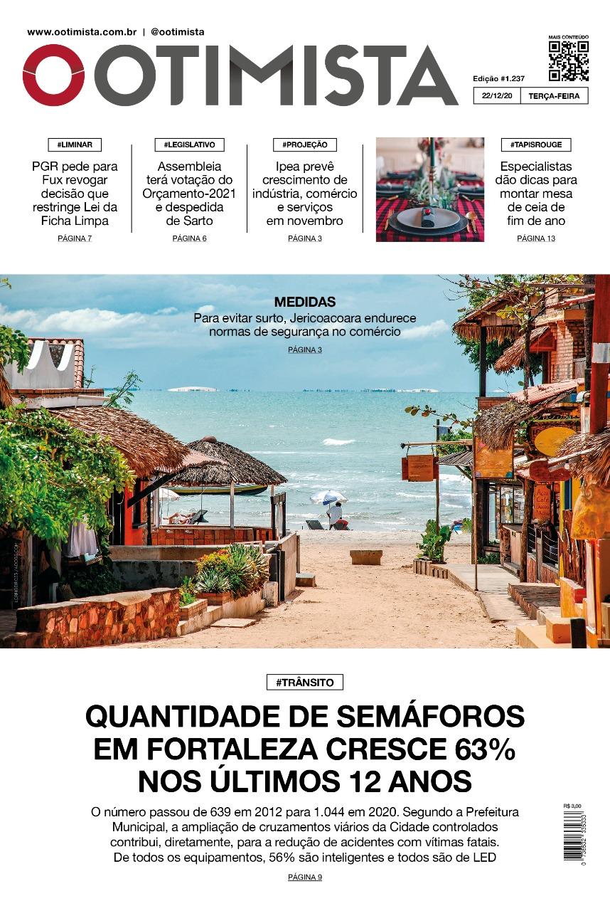 O Otimista - Edição impressa de 22/12/2020