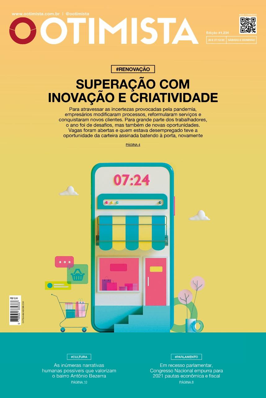 O Otimista - Edição impressa de 26 e 27/12/2020