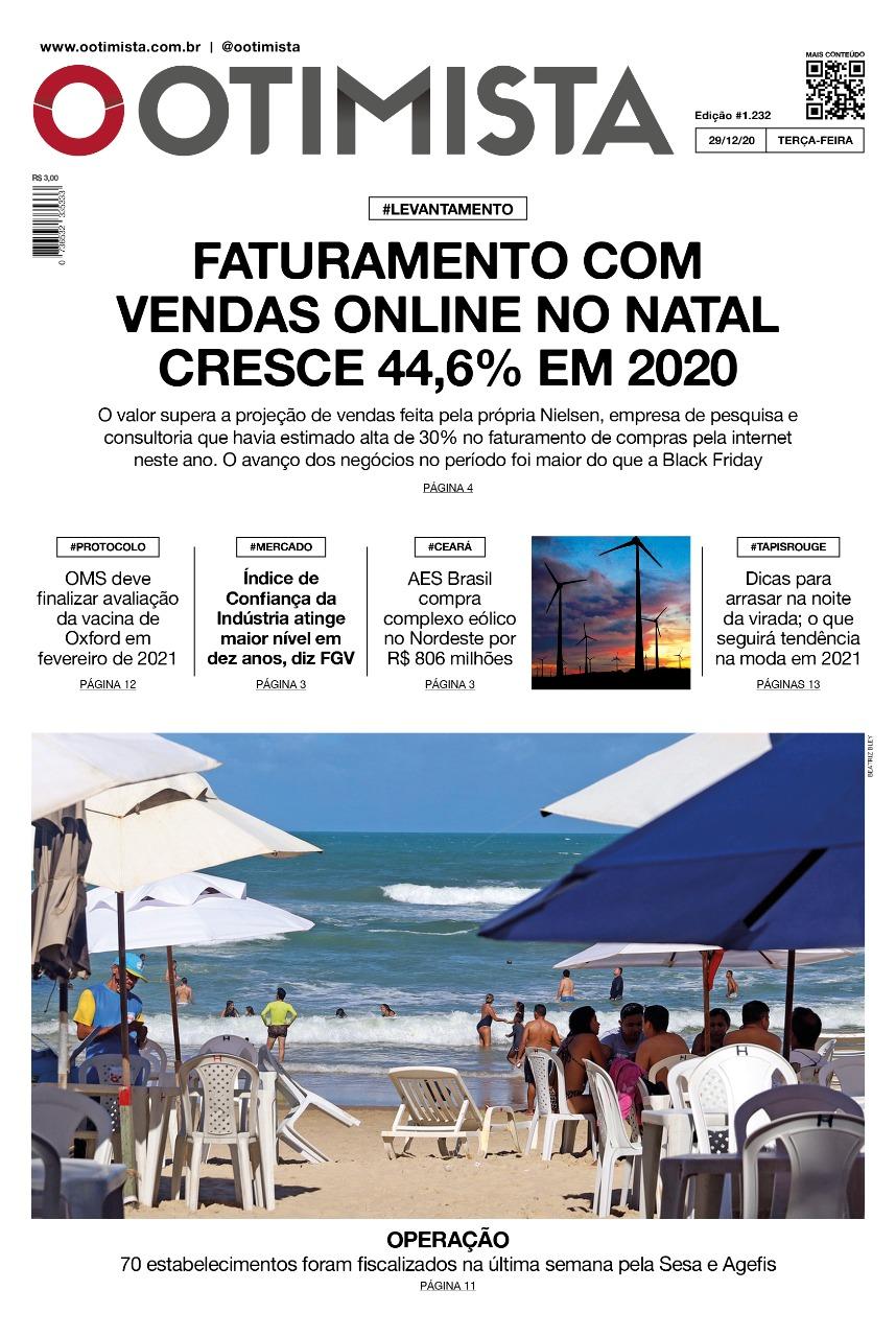 O Otimista - Edição impressa de 29/12/2020