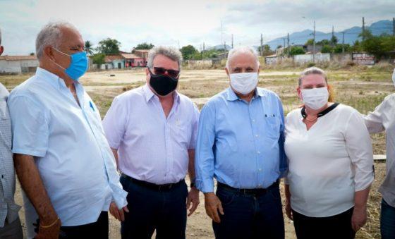 Grupo Christus visita áreas para abertura de uma nova unidade em Maracanaú