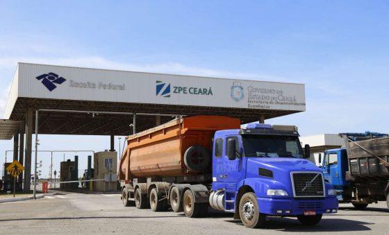 ZPE Ceará tem alta na movimentação de minério de ferro e placas de aço