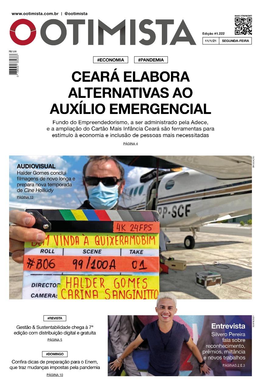 O Otimista - edição impressa de 11/1/2021