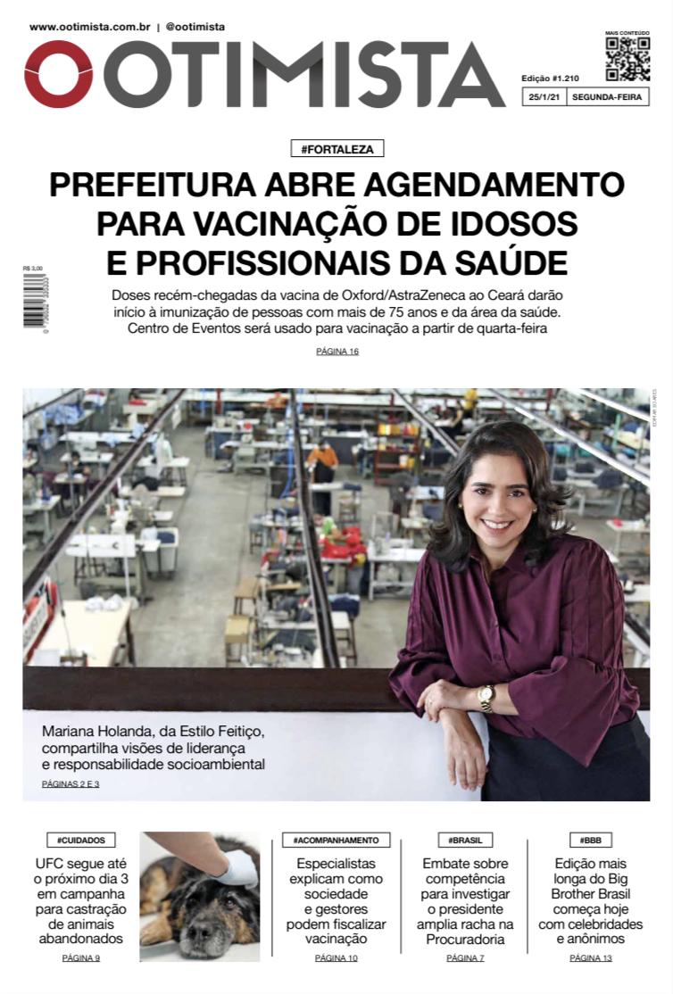 O Otimista - edição impressa de 25/1/2021