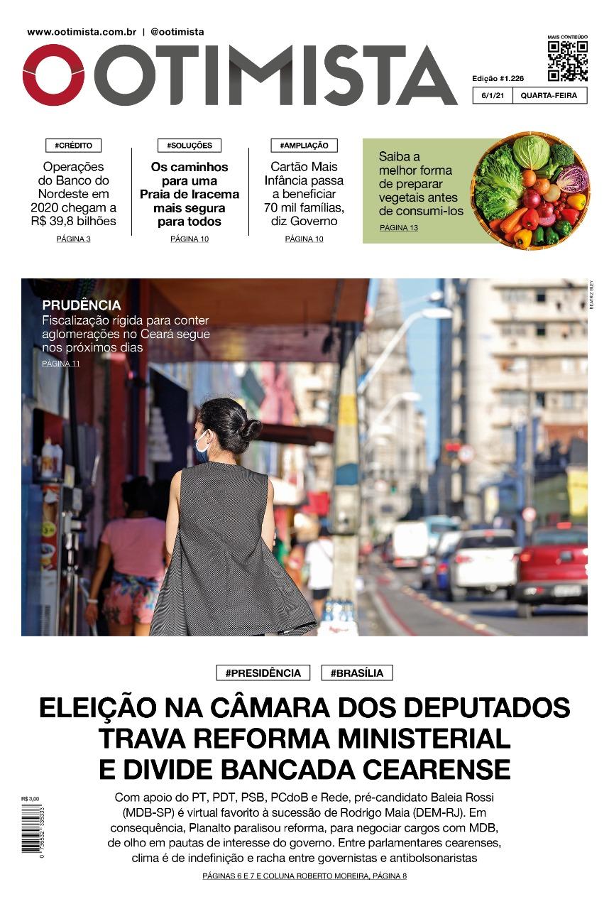 O Otimista - Edição impressa de 06/01/2021