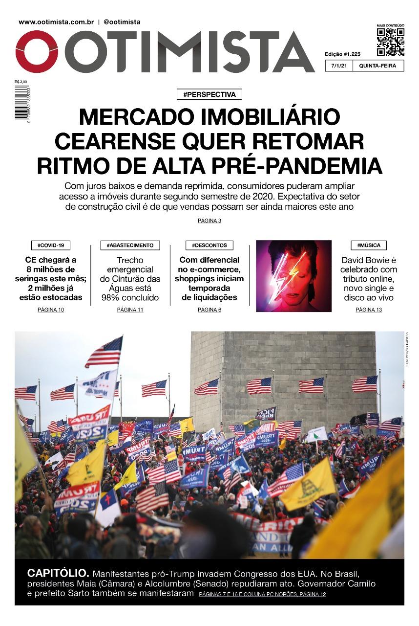 O Otimista - Edição impressa de 07/01/2021