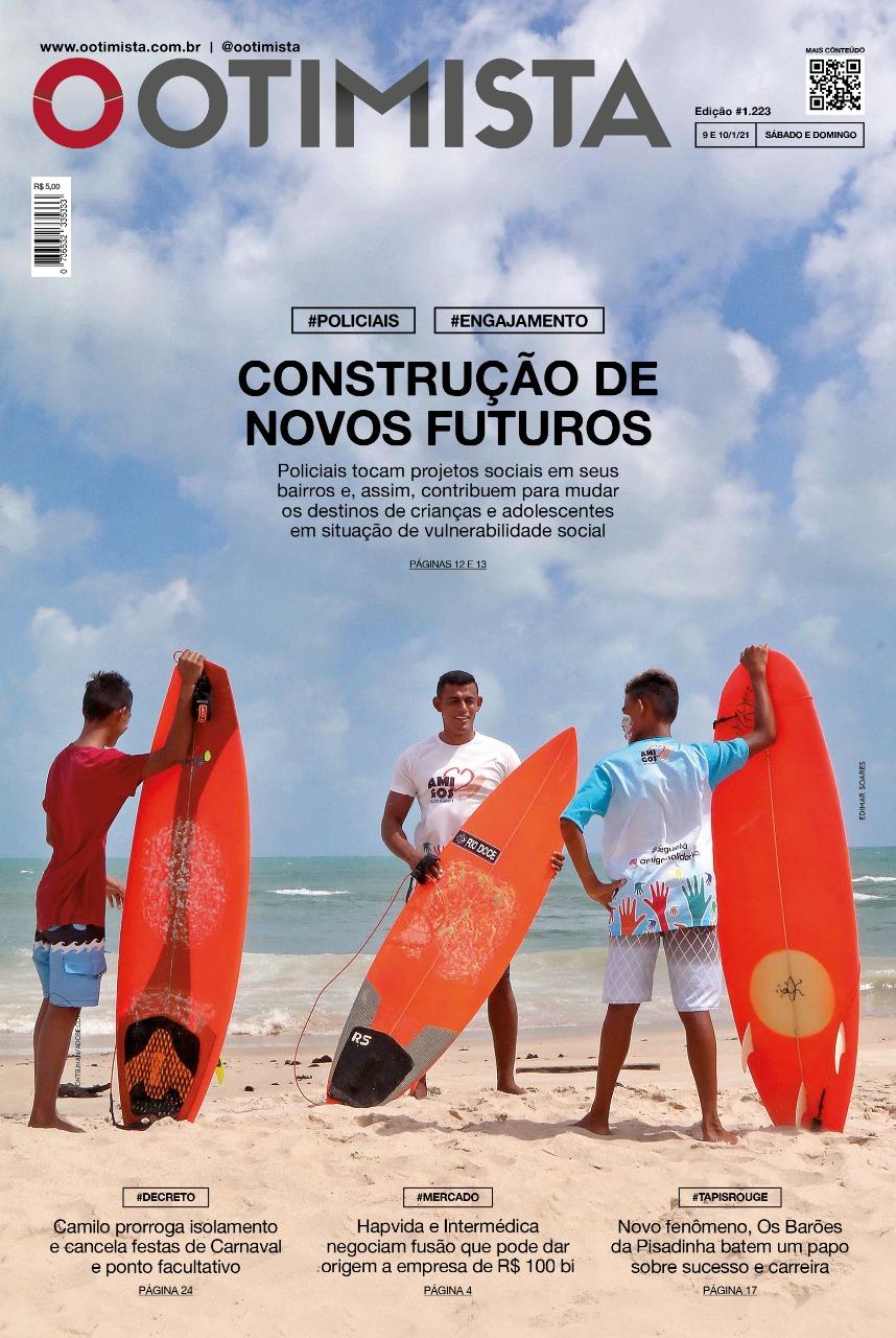 O Otimista - Edição impressa de 09 e 10/01/2021