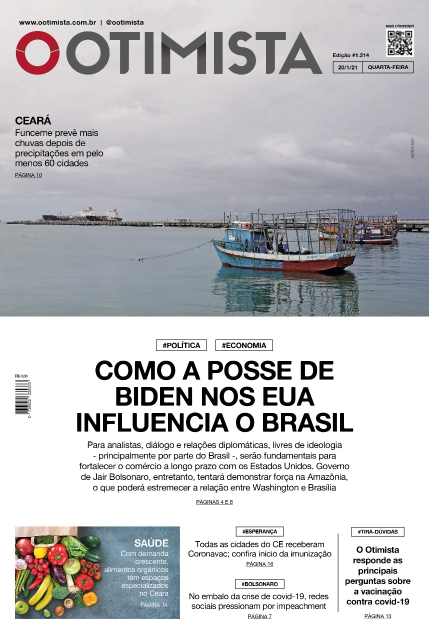 O Otimista - Edição impressa de 20/01/2021