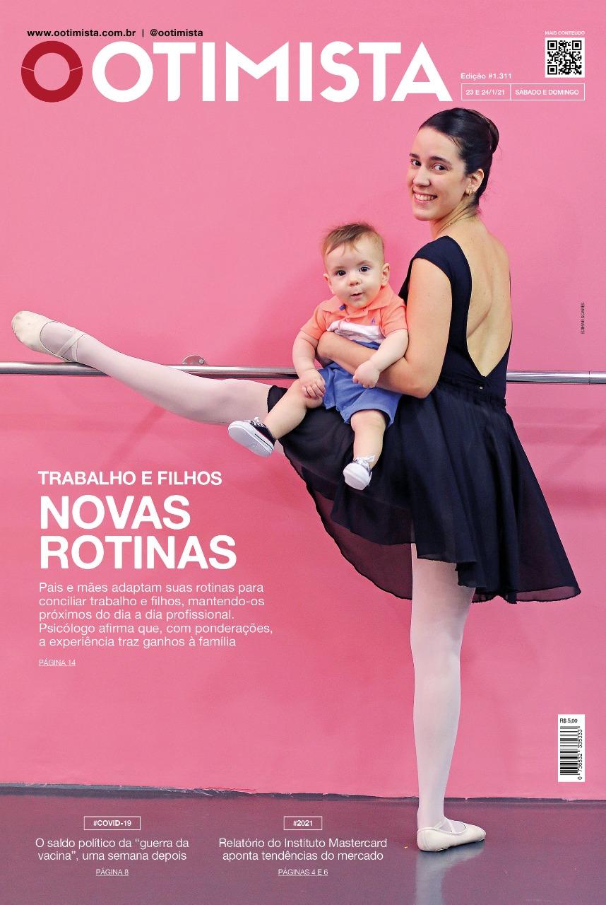 O Otimista - Edição impressa de 23 e 24/01/2021