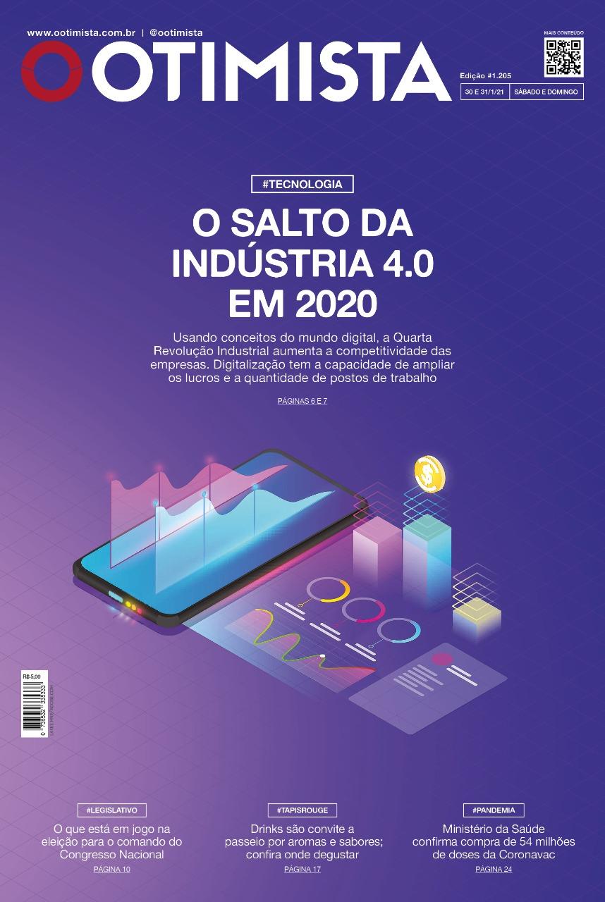 O Otimista - Edição impressa de 30 e 31/01/2021