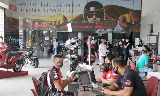 Suspensão da produção de motos em Manaus faz aumentar fila de espera no CE