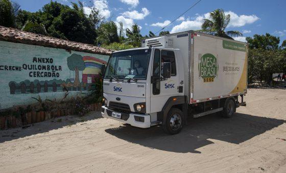 Mesa Brasil Sesc comemora  20 anos de atuação no Ceará