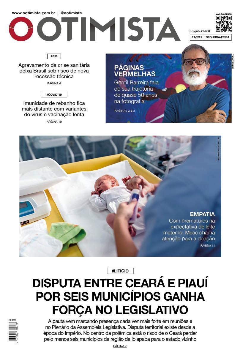 O Otimista - edição impressa de 22/2/2021