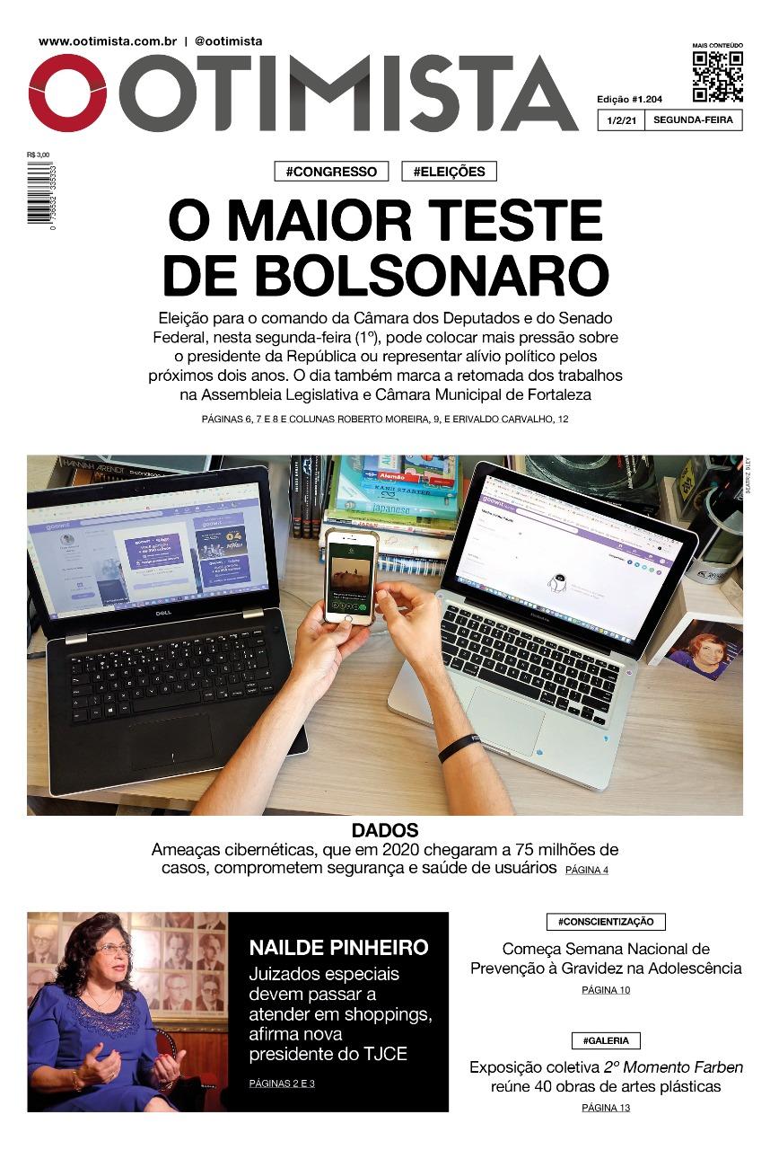 O Otimista – Edição impressa de 01/02/2021