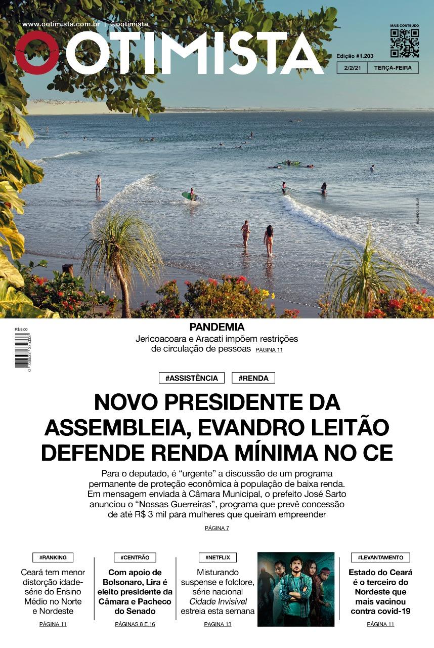 O Otimista - Edição impressa de 02/02/2021
