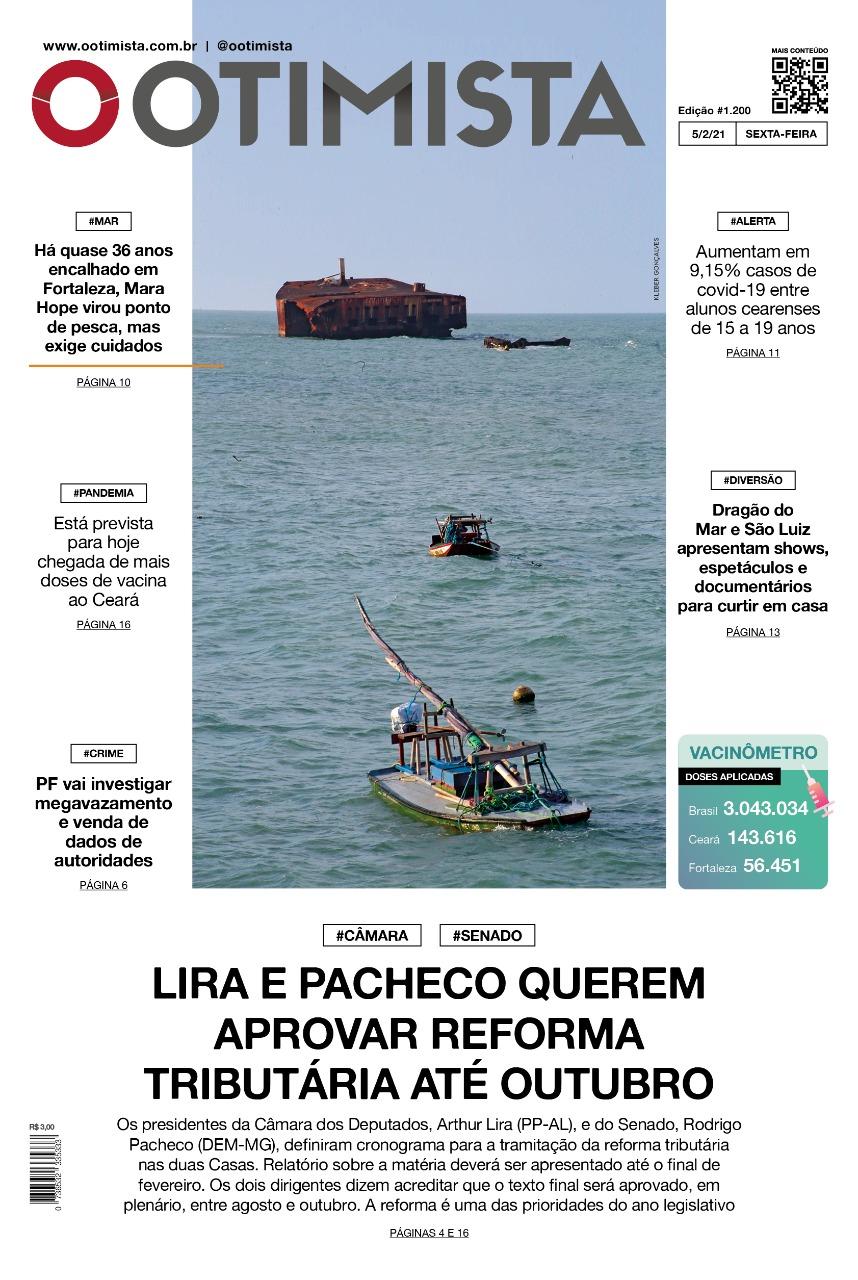 O Otimista - Edição impressa de 05/02/2021