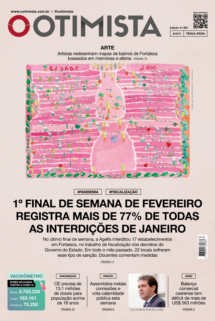 O Otimista - Edição impressa de 09/02/2021