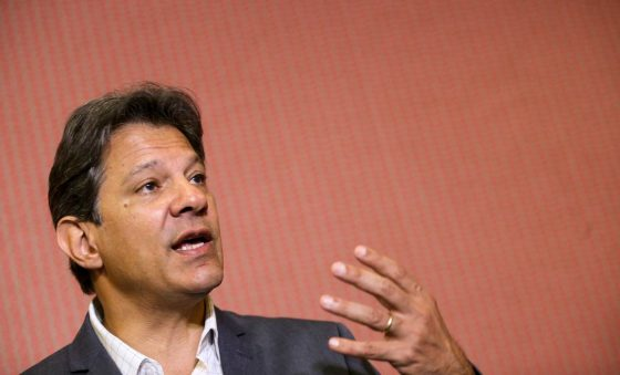 Haddad defende acordo geral de partidos anti-Bolsonaro em 2022