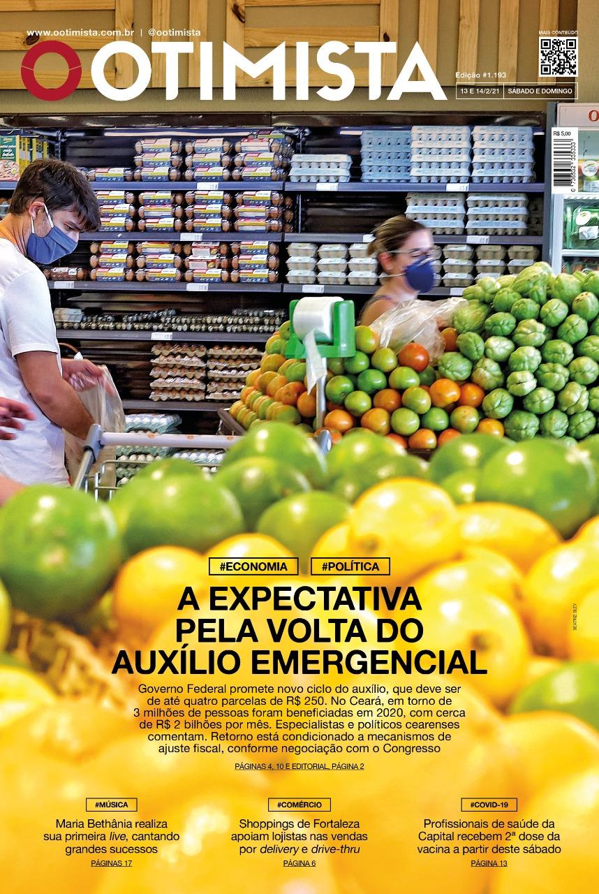 O Otimista - Edição impressa de 13 e 14/02/2021