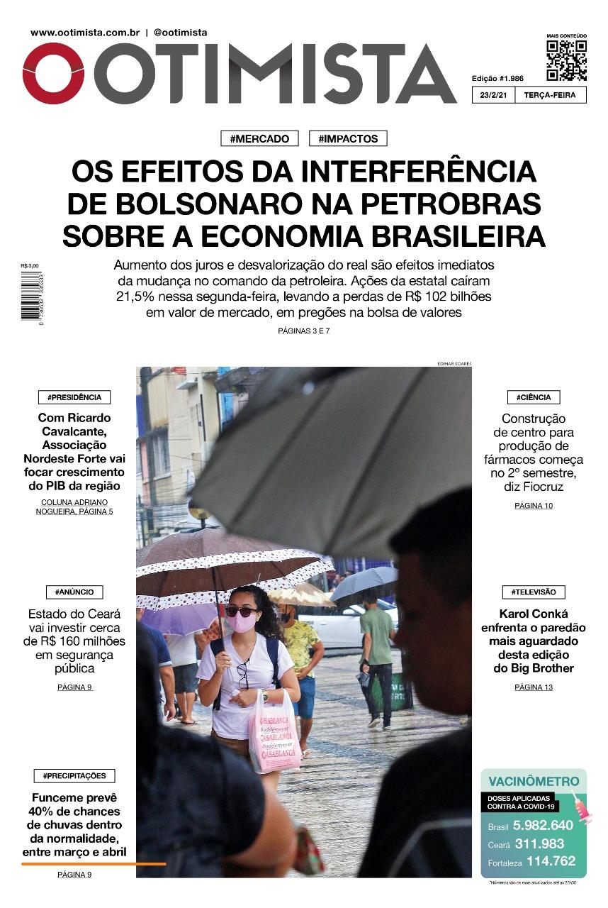 O Otimista - Edição impressa de 23/02/2021