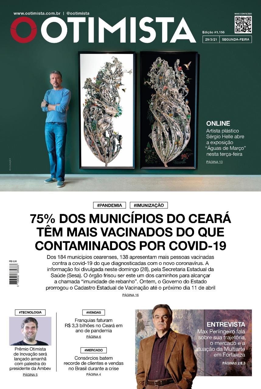 O Otimista - edição impressa de 29/3/21