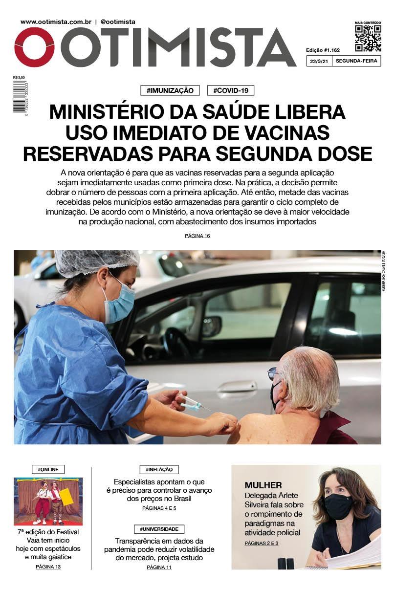 O Otimista - edição impressa de 22/3/21