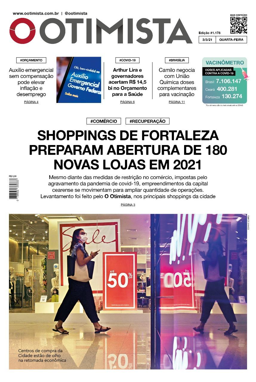 O Otimista - Edição impressa de 03/02/2021