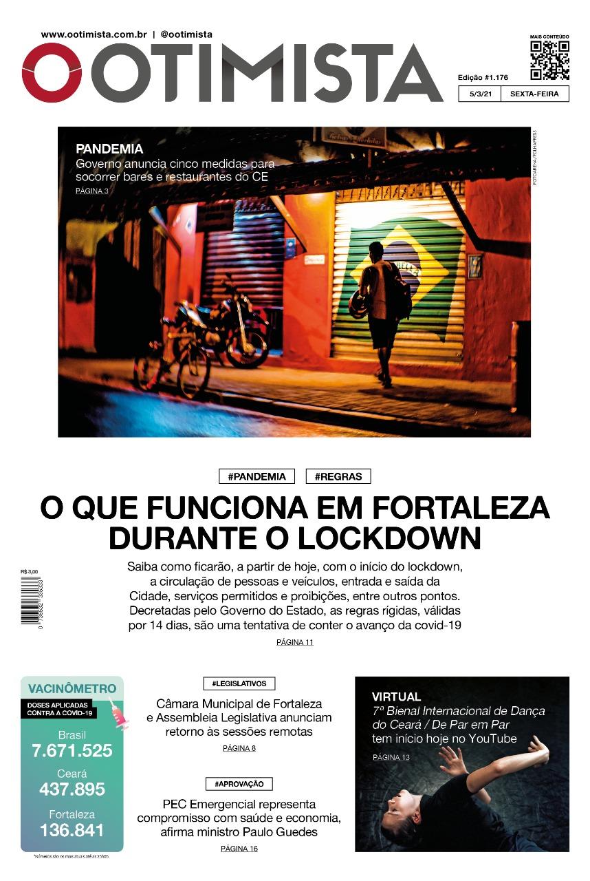 O Otimista - Edição impressa de 05/03/2021