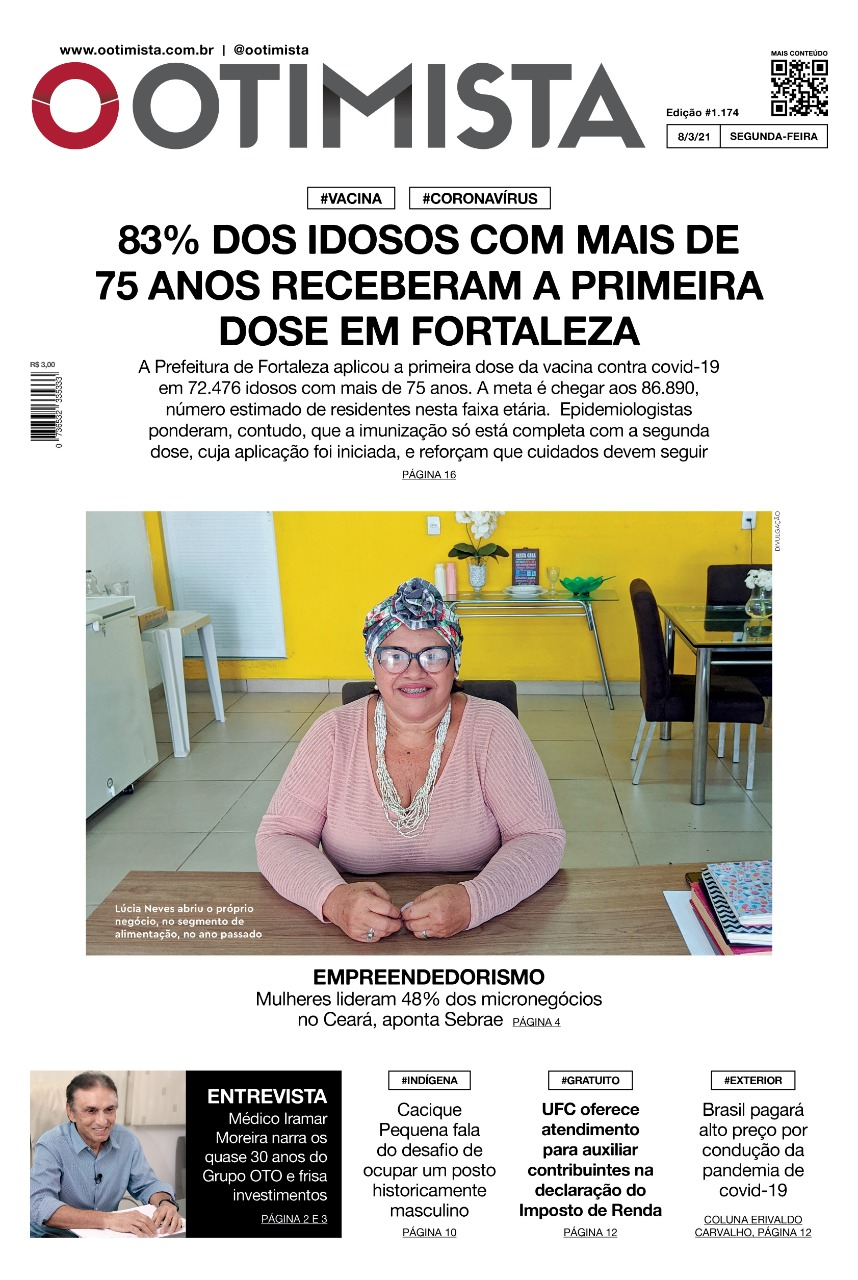 O Otimista - Edição Impressa de 8/3/2021