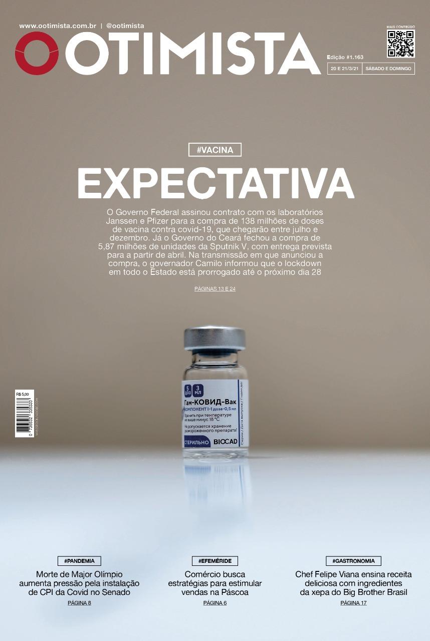 O Otimista - Edição impressa de 20 e 21/03/2021