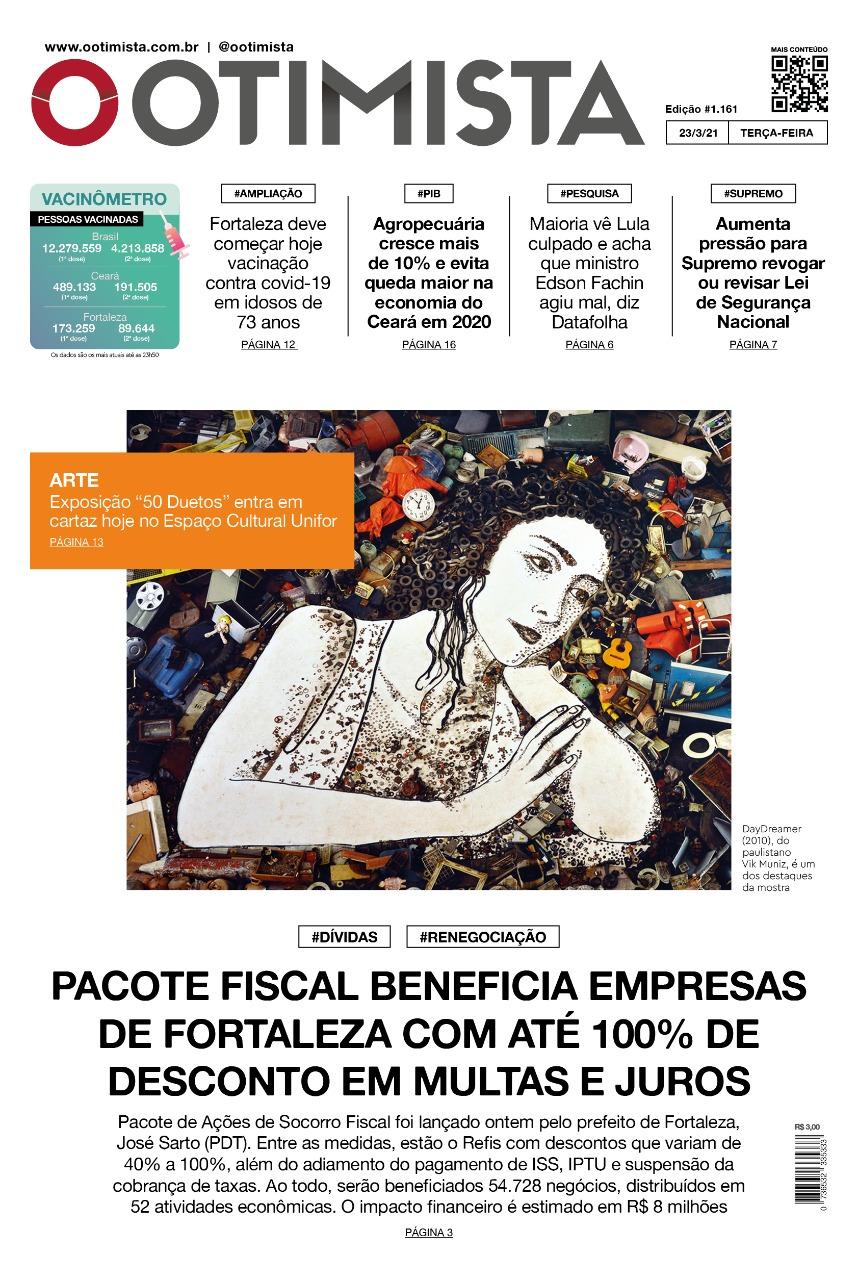 O Otimista - Edição impressa de 23/03/2021