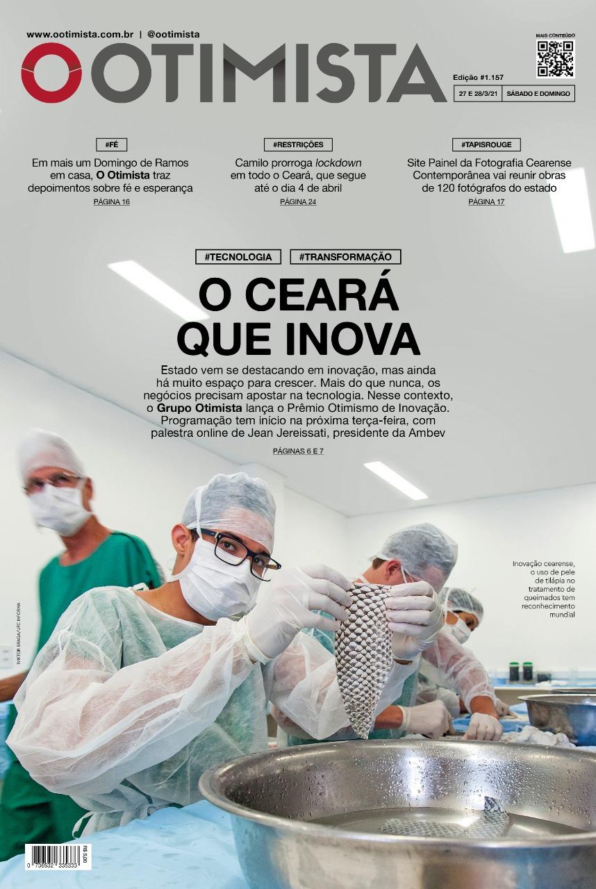 O Otimista – Edição impressa de 27 e 28/03/2021
