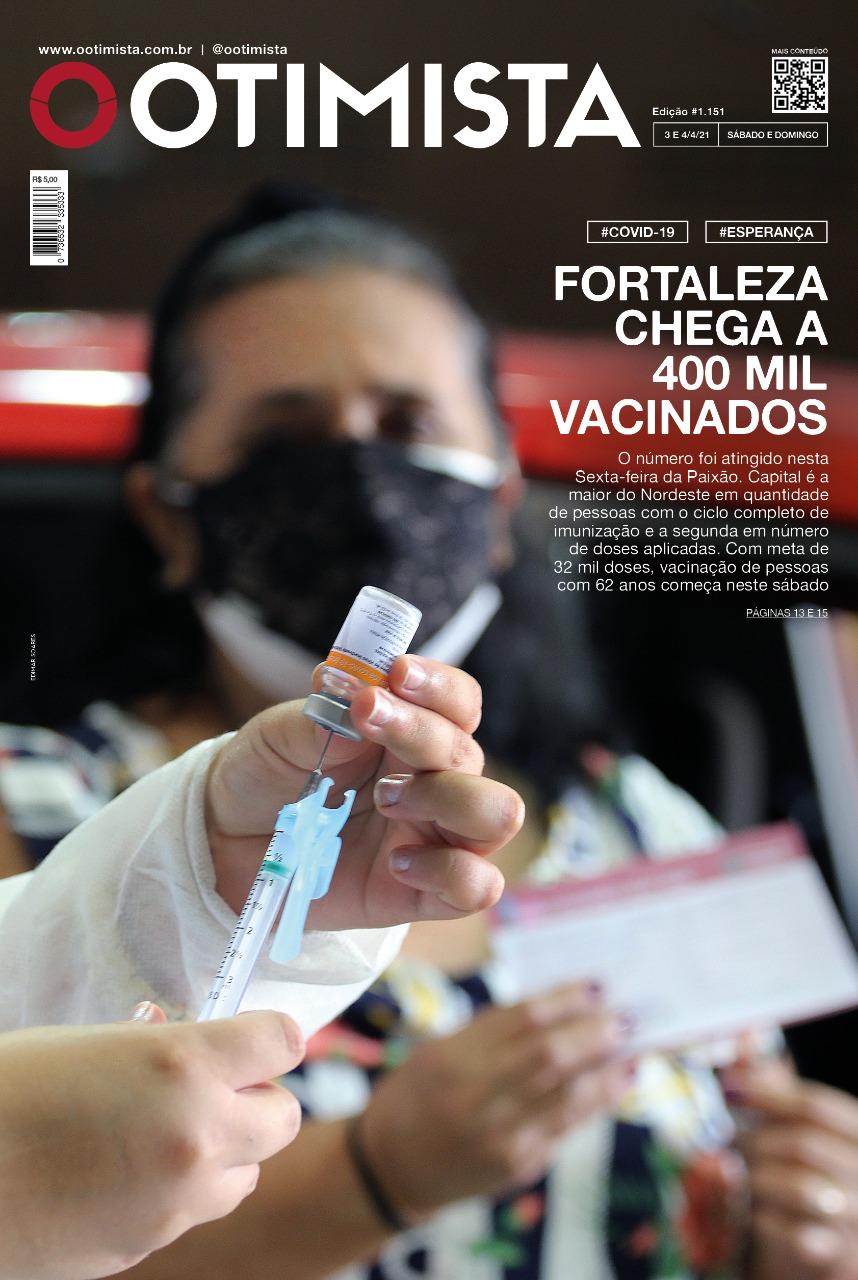 O Otimista - Edição impressa de 3 e 4/04/2021