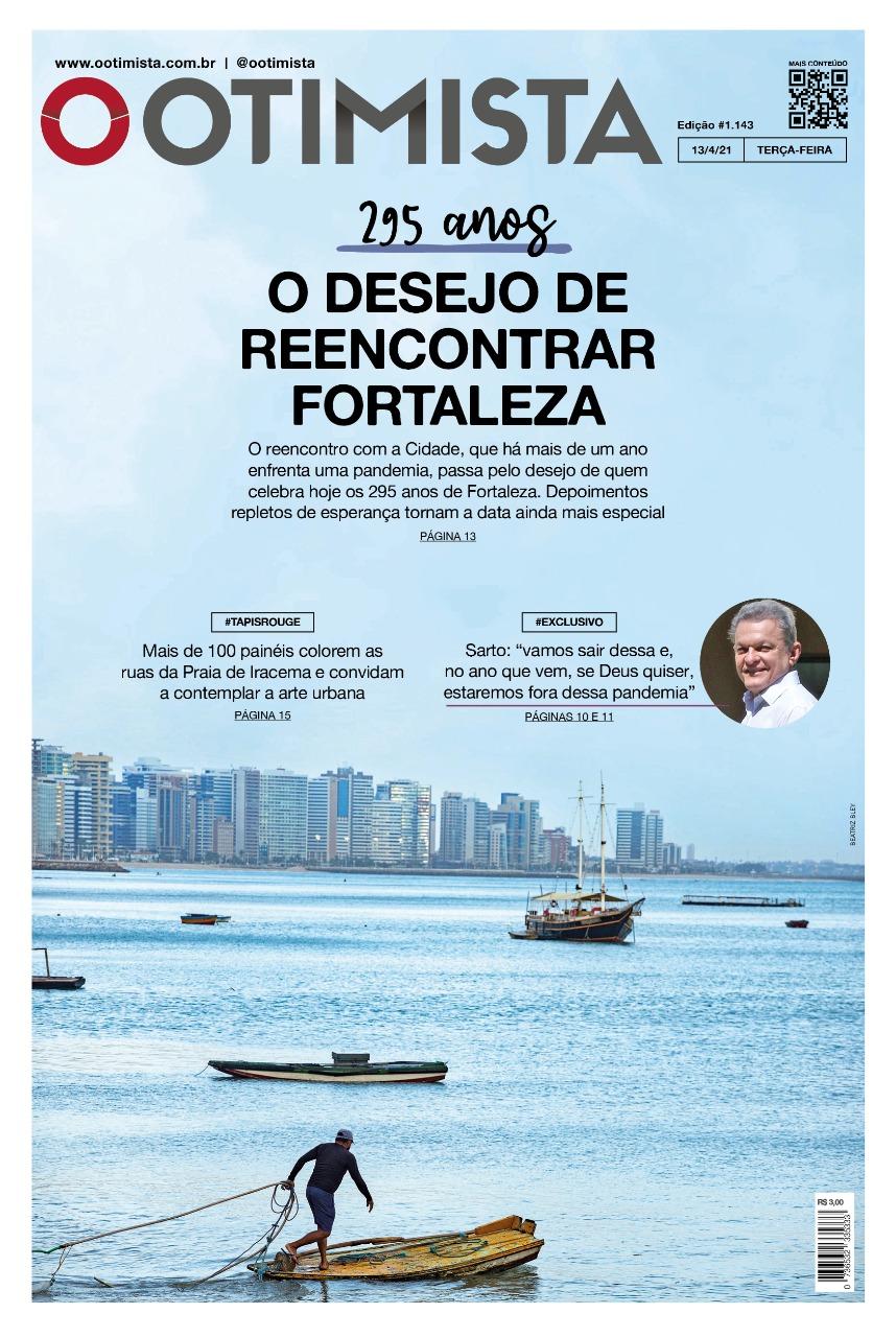 O Otimista - Edição impressa de 13/04/2021