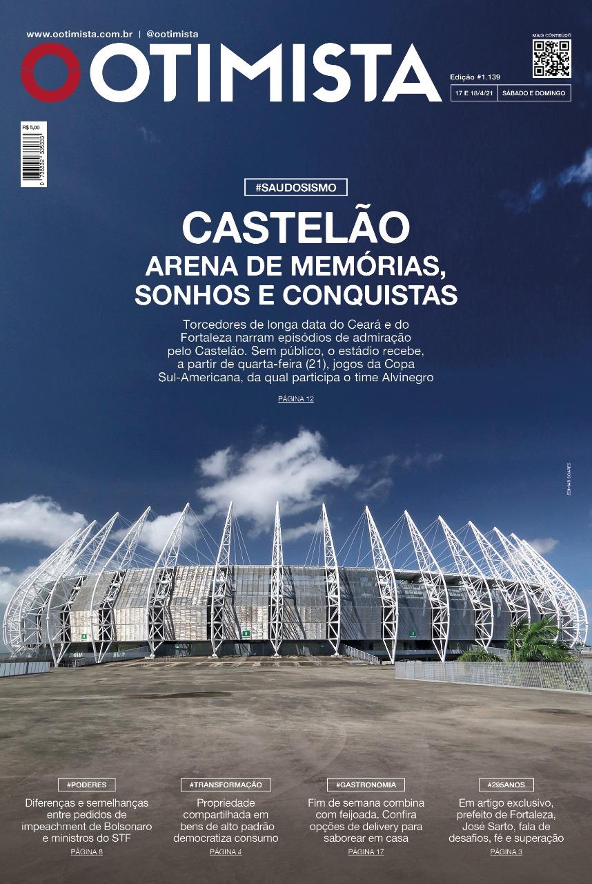 O Otimista - Edição impressa de 17 e 18/04/2021