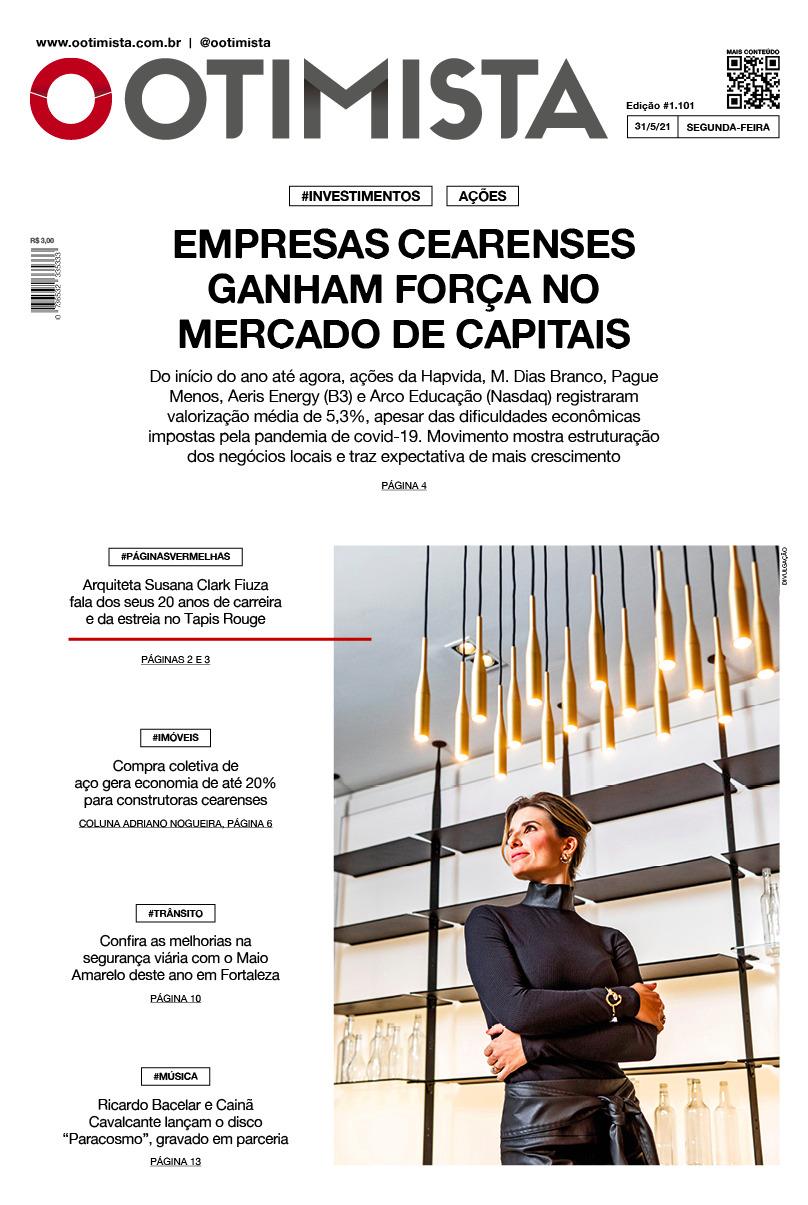 O Otimista - edição impressa de 31/5/2021