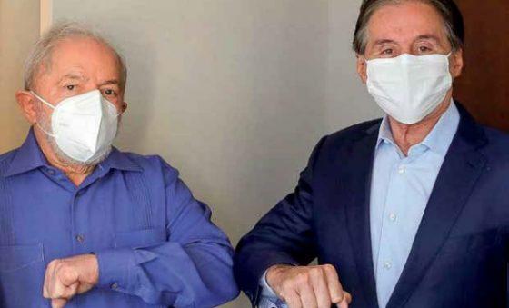 Eunício explora seu encontro com o ex-presidente Lula, principal adversário de Ciro entre concorrentes de Bolsonaro – Edison Silva