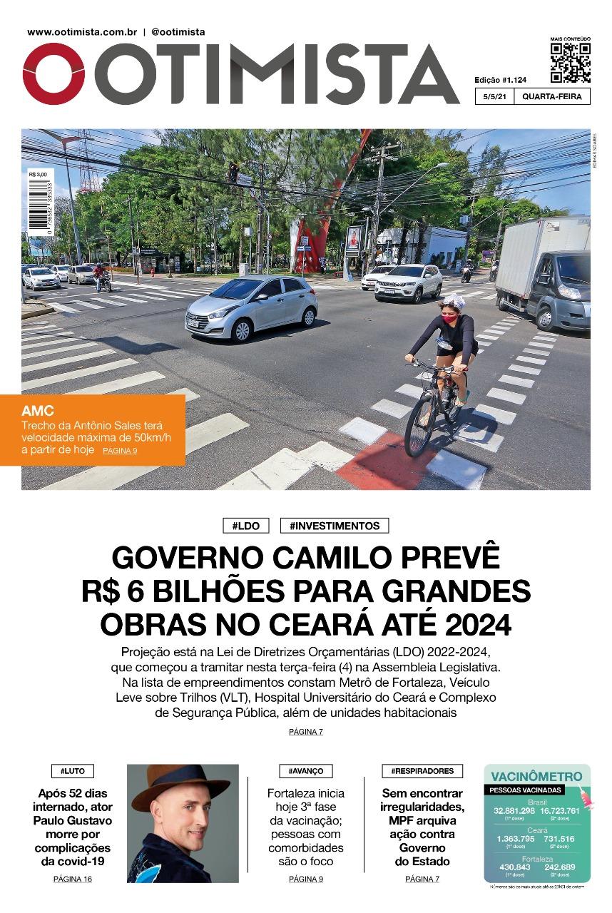 O Otimista - Edição impressa de 05/05/2021