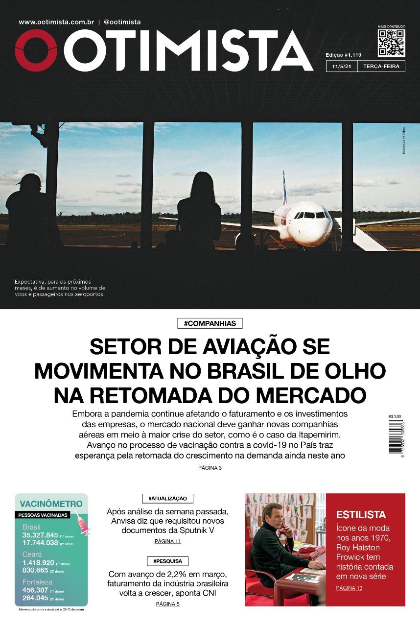 O Otimista - Edição impressa de 11/05/2021