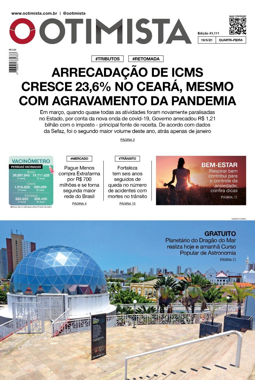 O Otimista - Edição impressa de 19/05/2021