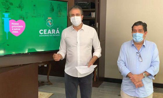 Camilo mantém decreto para maioria das regiões do Estado e recomenda mais restrições para o Cariri