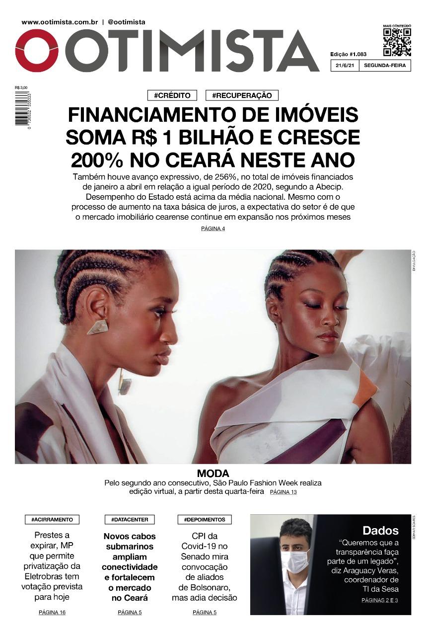 O Otimista - Edição impressa de 21/6/2021