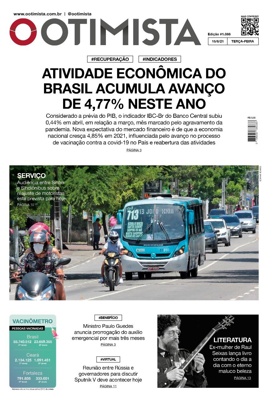 O Otimista – Edição impressa de 15/06/2021
