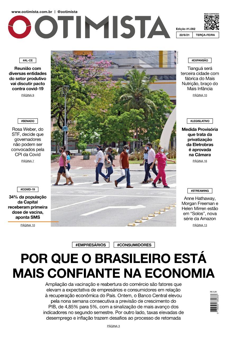 O Otimista - Edição impressa de 22/06/2021