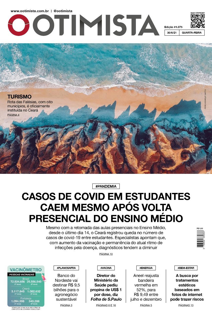 O Otimista – Edição impressa de 30/06/2021