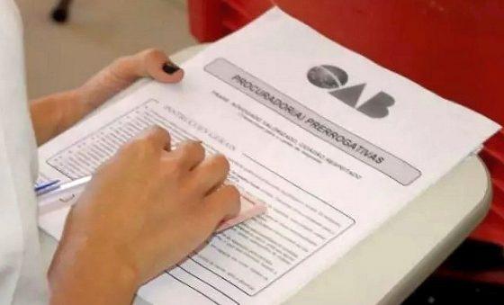 Com entrada escalonada, 1ª fase do Exame da OAB será aplicada neste domingo