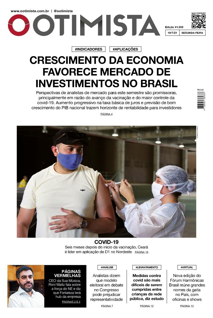 O Otimista - edição impressa de 19/7/2021