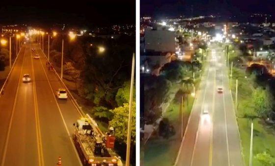 Nova iluminação pública em LED do município de Brejo Santo