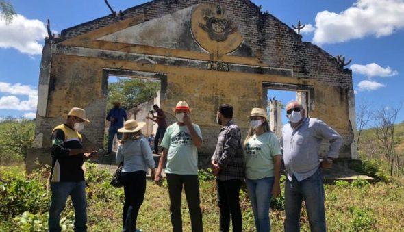 Exclusivo: Ceará inicia processo de tombamento de campos de concentração em Senador Pompeu