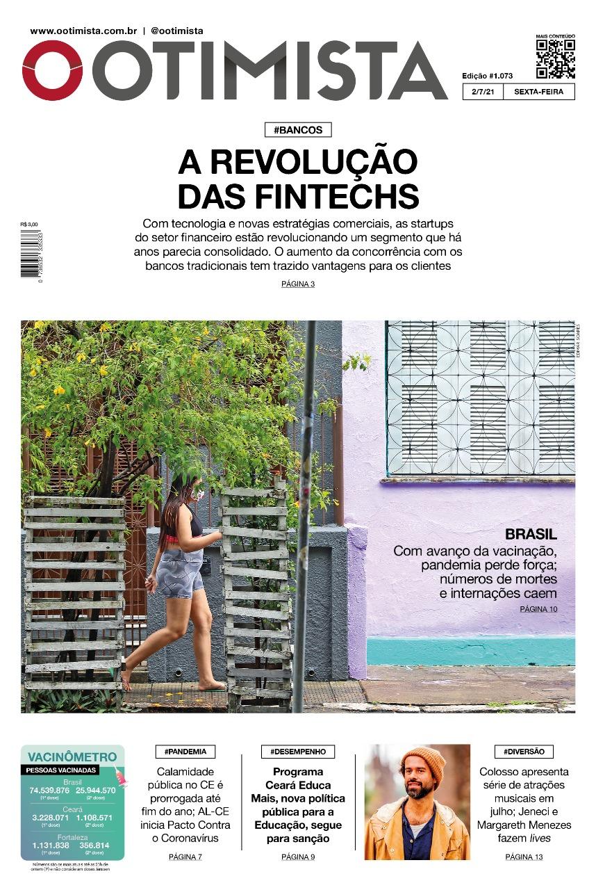 O Otimista - Edição impressa de 02/07/2021