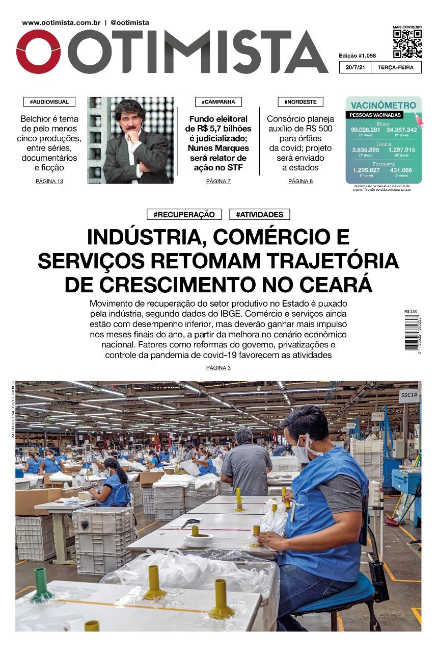 O Otimista – edição impressa de 20/07/2021
